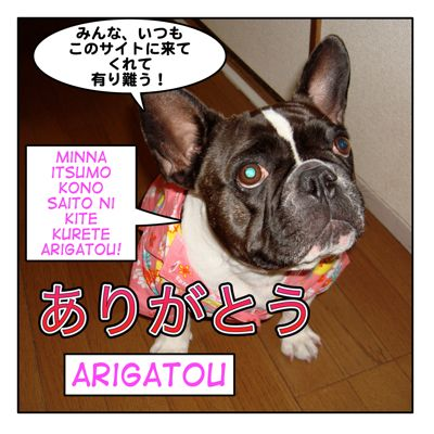� arigatou how to say thank you in japanese